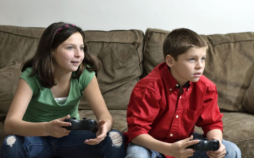 Video Games, TV, and the 'Net — Oh My!